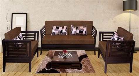 teak sofa set india get modern complete home interior with 20 years durability