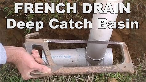 how to install french drain in backyard decor wet spots in yard french drain with deep catch basin how to install a french