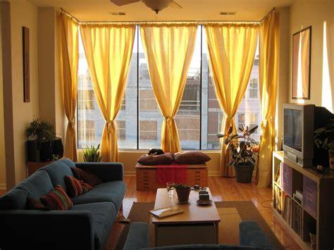 cortinas rusticas para salon cortinas amarillas para el sal 243 n im 225 genes y fotos