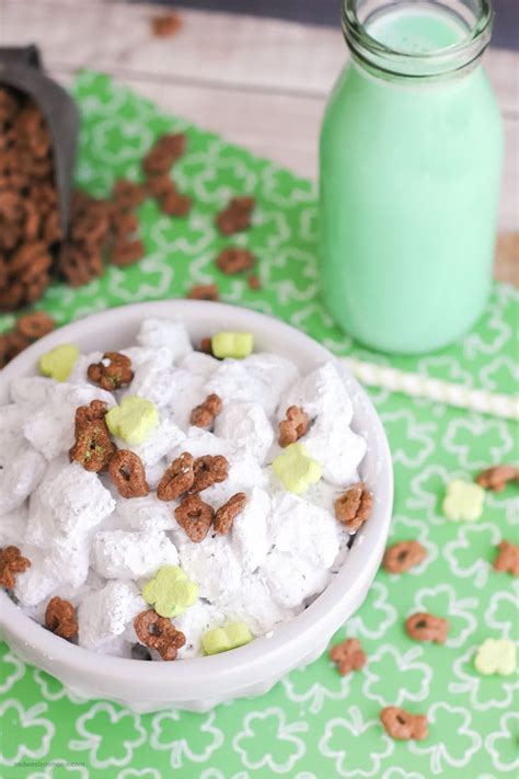 easy puppy chow recipe st s day puppy chow recipe