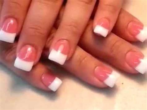 Trisia Powder White Pink White how easy to do pretty nail pink and white powder