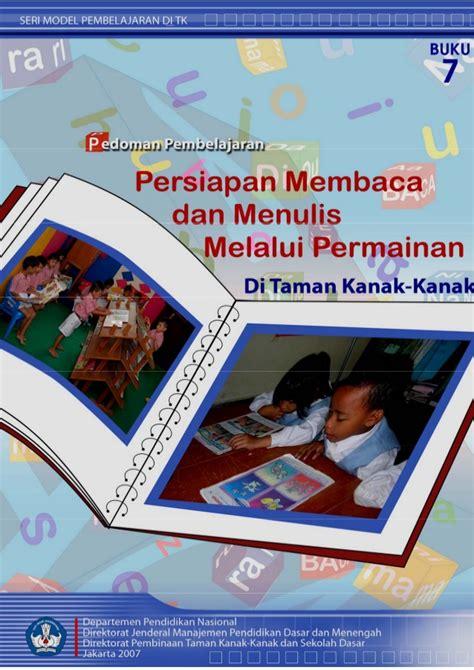Buku Paud Dan Tk Seri Aku Senang Zikrul Hakim Bestari persiapan baca tulis