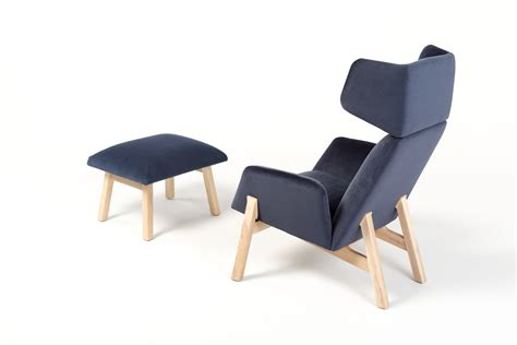 armchairs with footstool stylish manta lounge armchair with a footstool