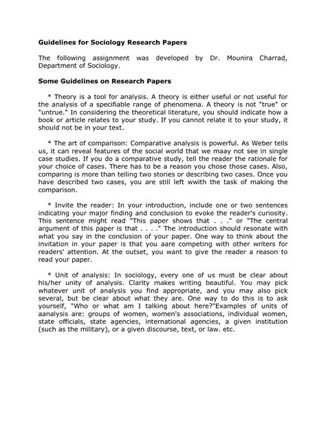 Write Conclusion Sociology Essay by Writing Essays For Sociology