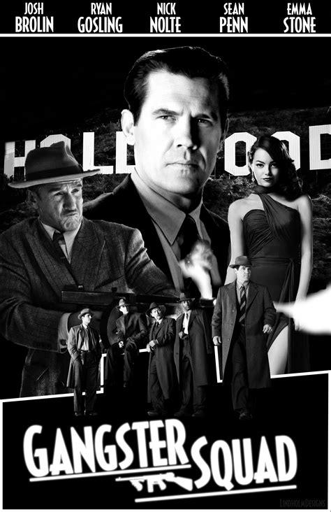 film noir gangster movies gangster squad poster film noir by lindholmdesigns on
