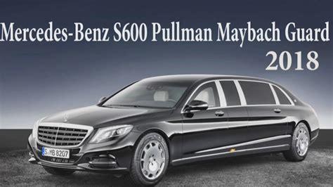 maybach guard mercedes s600 pullman maybach guard 2018 new car