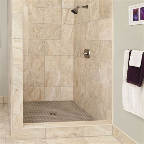 bathroom tile shower beautifully beige schluter ca