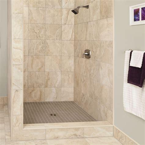 Beautifully Beige Schluter Ca Bathroom Tile Shower Pictures