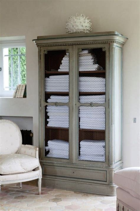 bathroom armoires armoire in the home of vicki archer of french essence