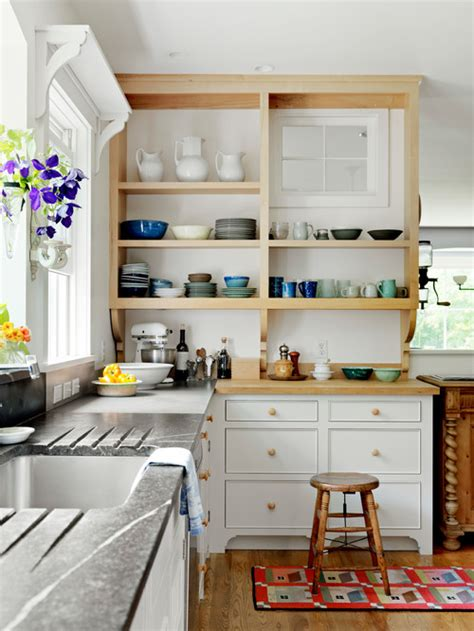 open kitchen shelving culture scribe open shelving ideas for the kitchen town country living