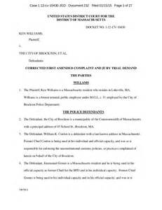 first amended complaint