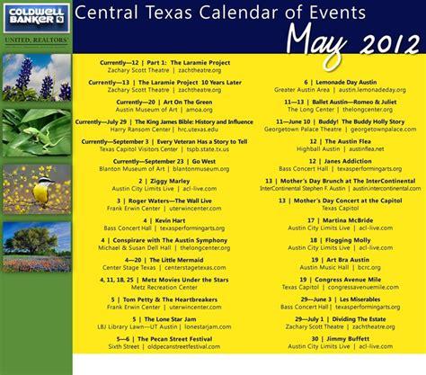 calendar austin central texas