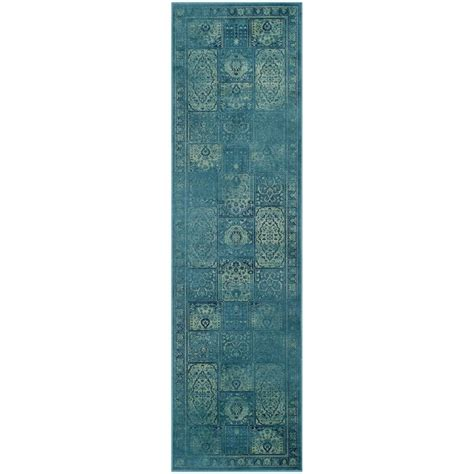 safavieh vintage turquoise multi 2 ft 2 in safavieh vintage turquoise multi 7 ft 6 in x 10 ft 6 in area rug vtg117 2220 810 the home