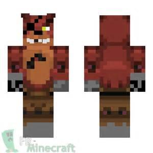 Minecraft skin minecraft foxy fnaf