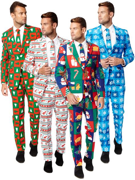 christmas mens wear mens opposuit adults oppo suit festive fancy dress costume ebay