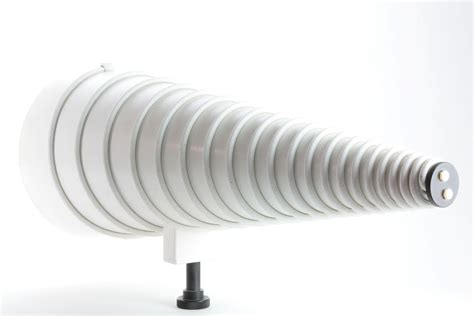 emco 3101 log conical spiral antenna 200mhz 1ghz 100w