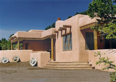 adobe house ponderosa adobe compound allegretti architects santa fe