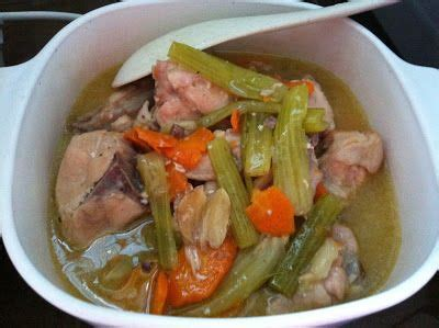 salicylate challenge the right to be alive celery carrot chicken stew