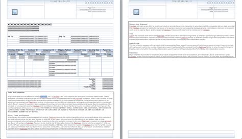 terms and conditions on invoice template invoice