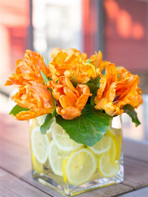 Ways To Decorate A Vase by How To Decorate A Glass Vase Hgtv