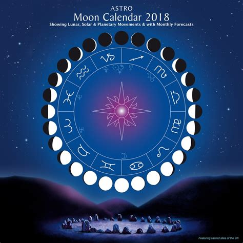 astrological almanac for 2018 books astro moon calendar 2018 astrocal