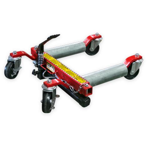 Rolling Wheel Dolly and Vehicle Positioning Rolling Jack