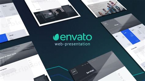 after effects web design template website presentation web after effects templates f5