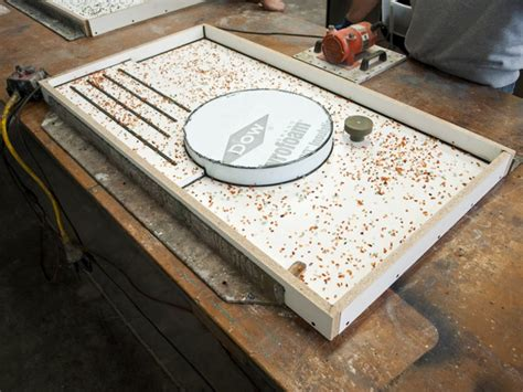 How To Make Concrete Countertop Molds by Two Build A Concrete Countertop Mold Cheng Concrete