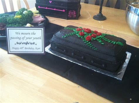 pin coffin shape cake on pinterest