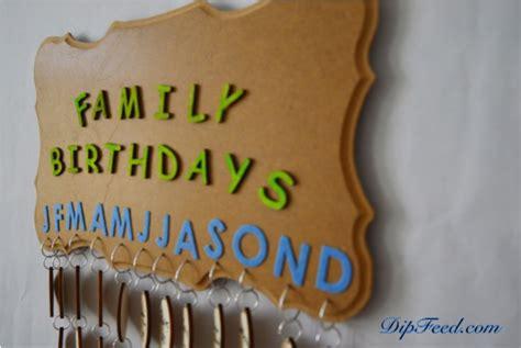 how to make a family calendar how to make a family birthdays calendar dipfeed