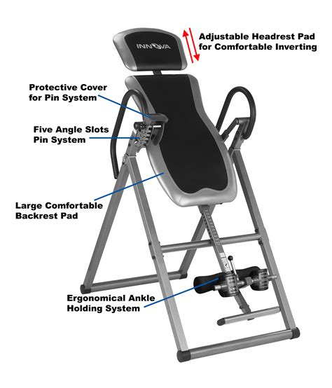 heavy duty inversion table home exercise workout heavy duty deluxe fitness inversion