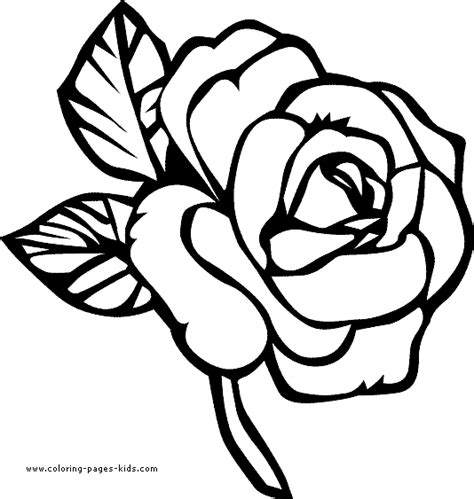 Pretty Flower Coloring Pages Flower Coloring Page Coloring Pages For Flowers