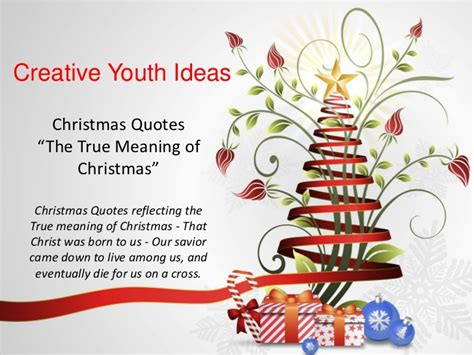 quotes about the true meaning of christmas quotesgram
