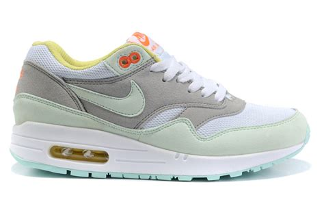 2014 new nike air max 87 womens shoes cheap olive gray white
