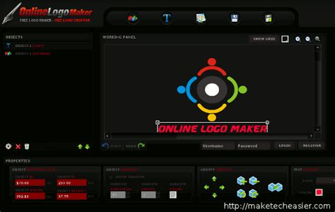 online layout creator html image gallery logo maker online