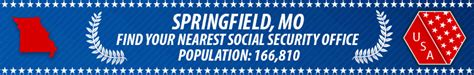 springfield mo social security offices ssa offices in