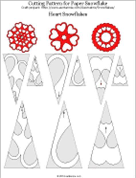 printable heart snowflake template symmetry in snowflakes geometric toys to make aunt