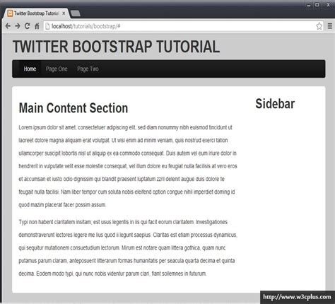 twitter bootstrap tutorial github 20分钟打造你的bootstrap站点 爱程序网