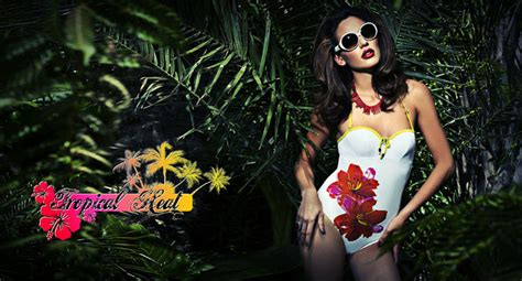 Tropical Swimsuit Summer tropical heat the swimwear for summer 2013