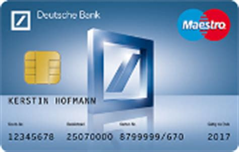 dispo deutsche bank studenten kreditkarte visa card mastercard