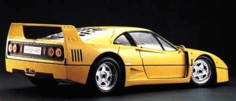 Ferrari Originalfarbe by Pocher Ferrari F40 K 56
