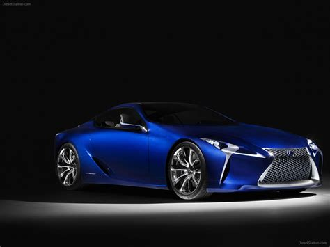 lexus sports car blue lexus lf lc blue concept 2012 exotic car wallpaper 09 of