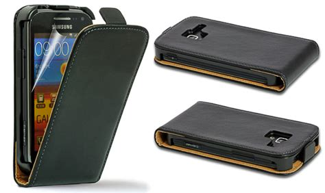 Casing Hp Samsung Galaxy Ace 2 colour real genuine leather flip cover for samsung galaxy ace 2 i8160 ebay