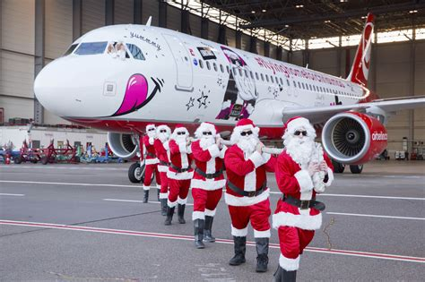this year s airberlin christmas flyer takes off for a new