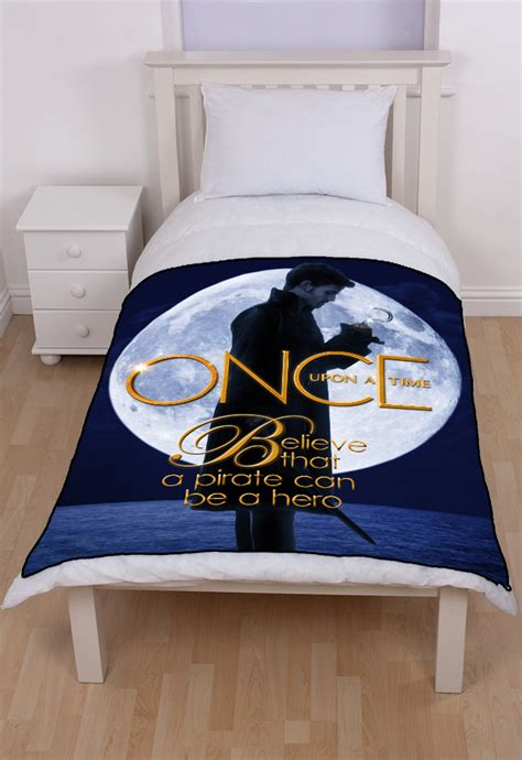 once upon a time bedding once upon a time captain hook bedding fleece throw blanket