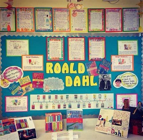 literacy themes ks2 literacy roald dahl ks2 topic display my classroom