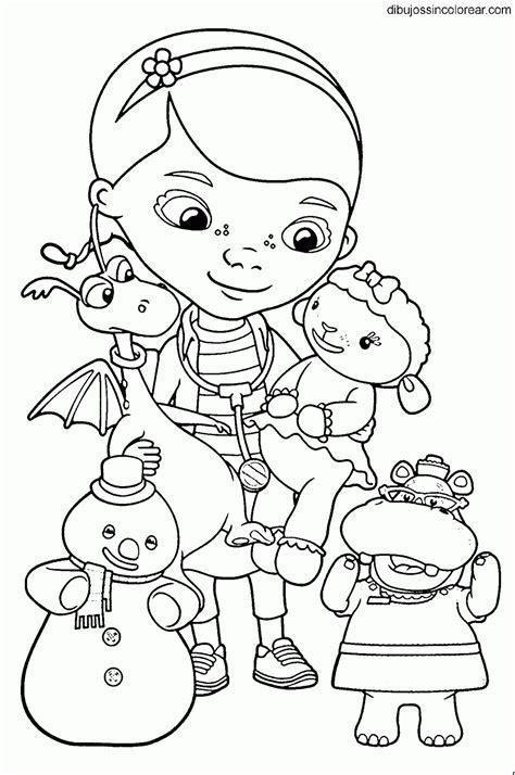 imagenes para colorear la doctora juguetes dibujos de personajes de doctora juguetes para colorear
