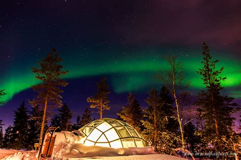igloo to watch northern lights kakslauttanen arctic resort truly once in a lifetime