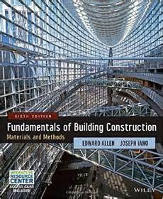 fundamentals of construction estimating books fundamentals of building construction estimating books