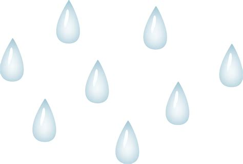 White Free - raindrop black and white clipart clipart suggest